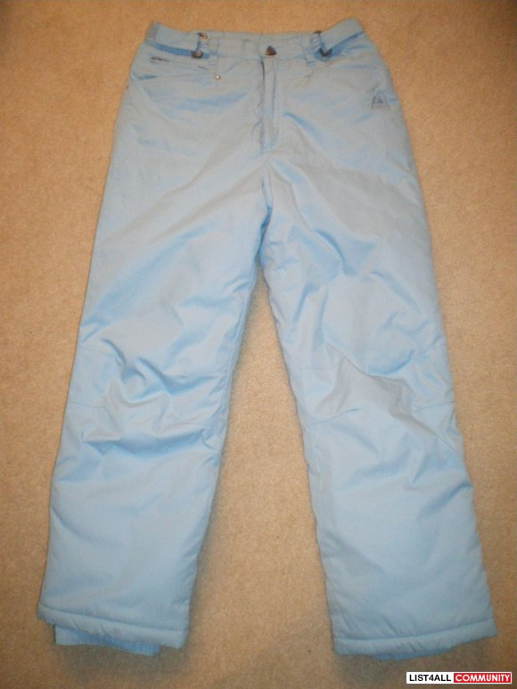 Firefly girl's snowboarding pants - Size 10 junior
