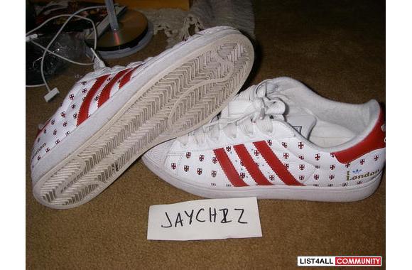 Adidas Superstar City Edition #23 I Love London, 5000 Pairs Worldwide,