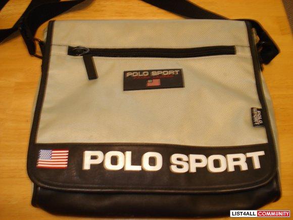 Ralph Lauren Polo Sport messenger bag    implusebuys    List4All f4d250d1a6c21