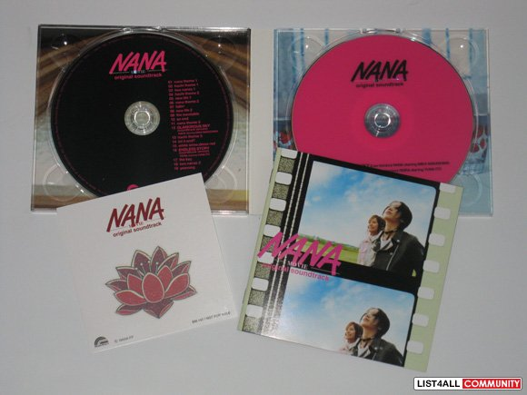 Nana Movie Original Soundtrack [Limited Edition]
