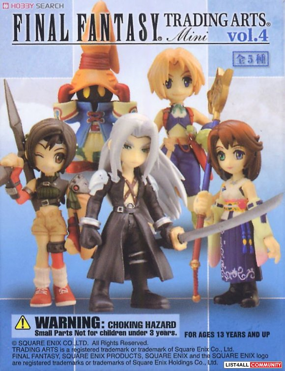 Final Fantasy Trading Arts Mini Vol.4 (Case of Boxed Figures)