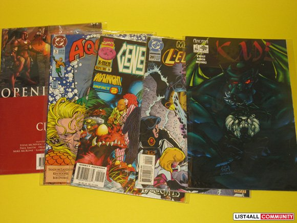 Assorted Comic Book Lot - FREE with other purchases!