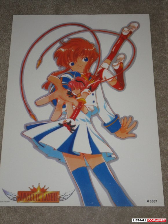 Anime Poster - CLAMP Angelic Layer Manga Illustration