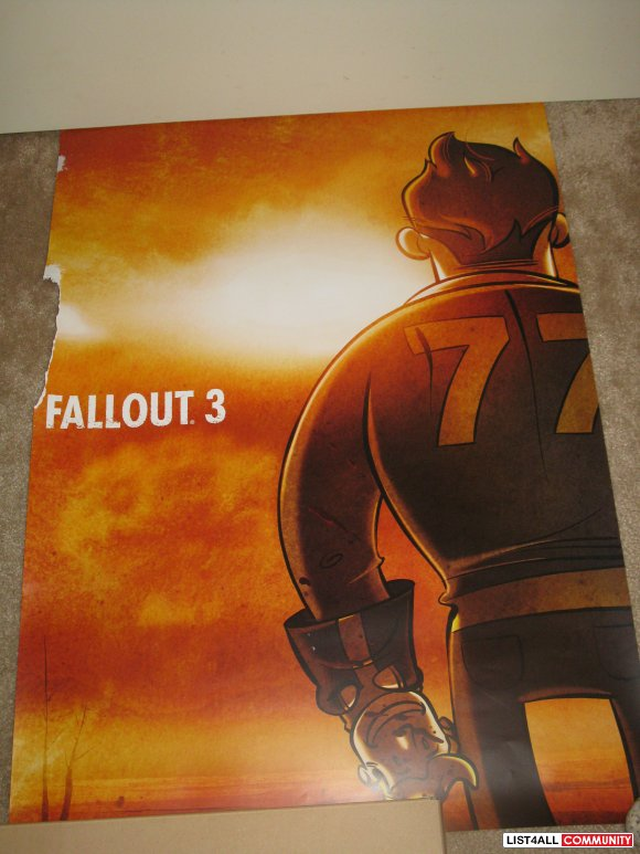 PAX 08 Poster Exclusive - Fallout 3 Illustrated by Gabe