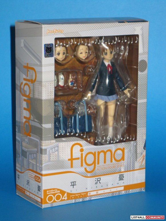 Max Factory Figma K-On series - Ui Hirasawa Posable Figure WF