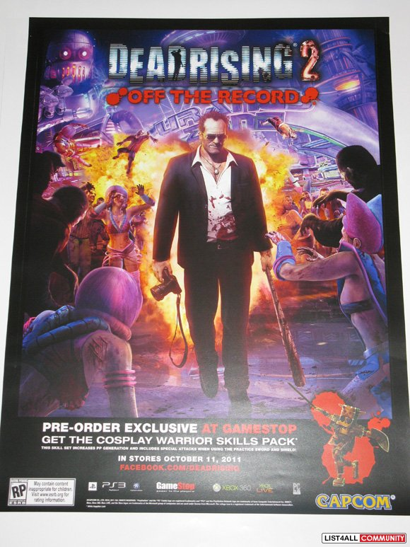 DeadRising 2: Off the Record / DeadRising: Road to Fortune Poster