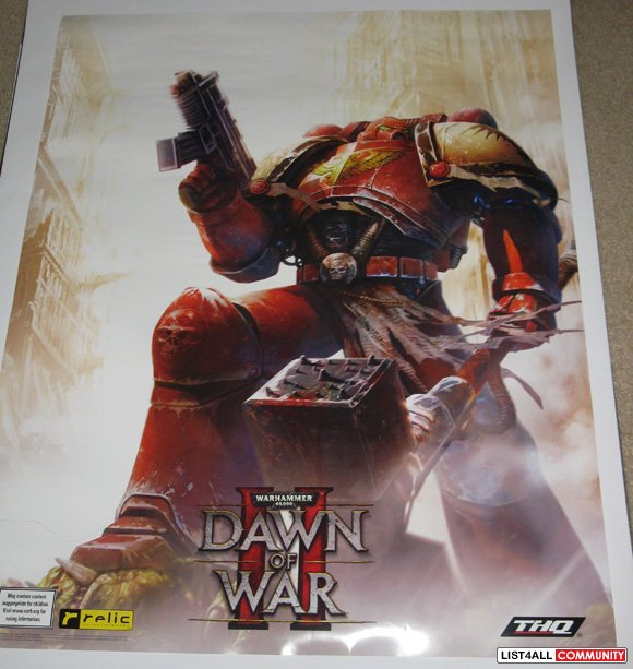 In THQ Inc. And Relic Entertainments sequel to the acclaimed Dawn of War II