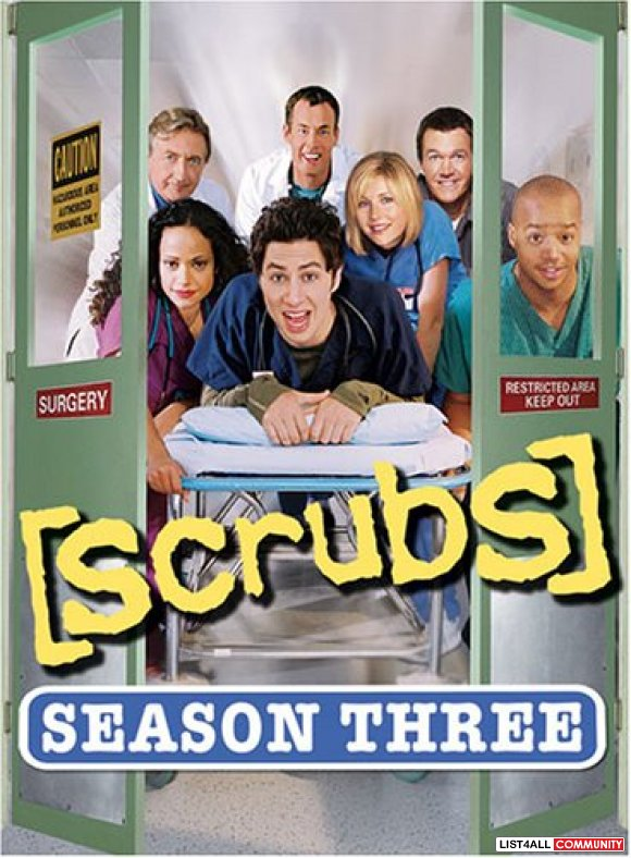 Scrubs - The Complete Third Season DVD Boxset