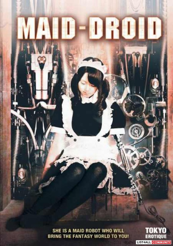 "Maid-Droid - A Japanese ""Pink"" Movie With Sexual Sci-Fi Elements"