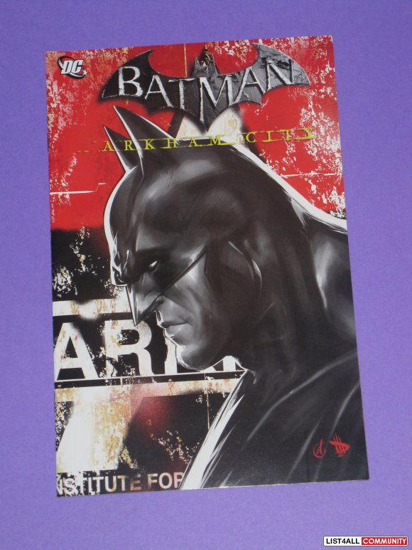 Batman Arkham City Comic Book Issue Warner Bros Promo PAX Prime 2012