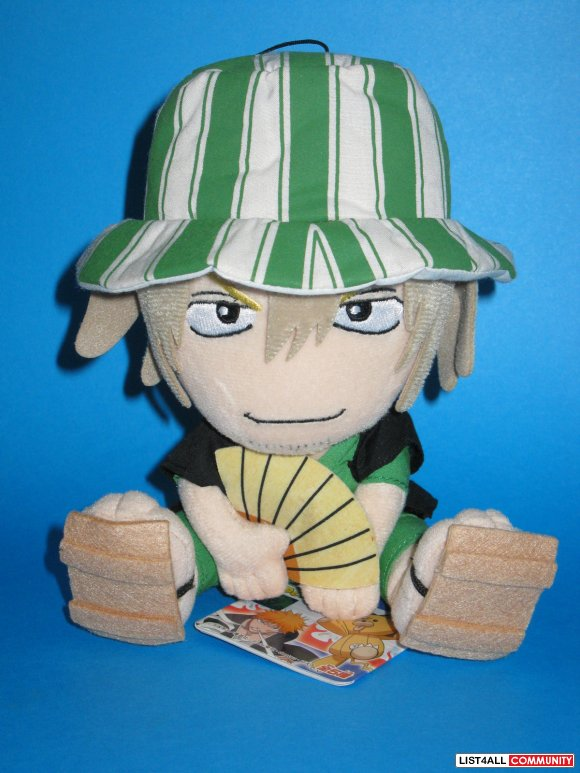 Anime Bleach Kisuke Urahara Shinigami UFO Catcher Plush