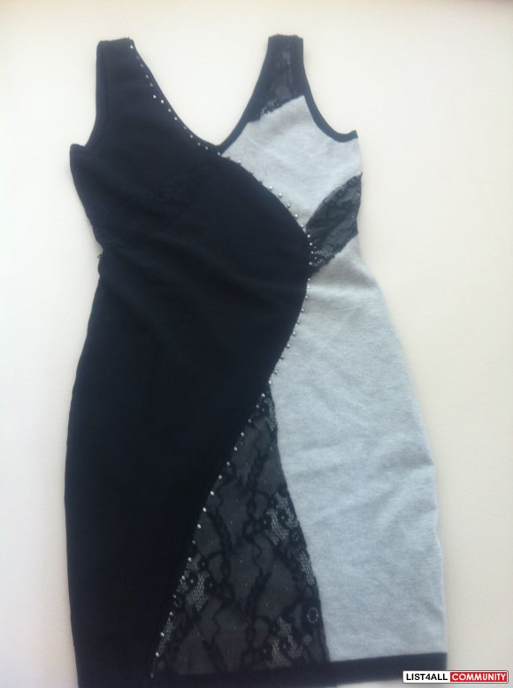 Marciano Lace and Beads Dress