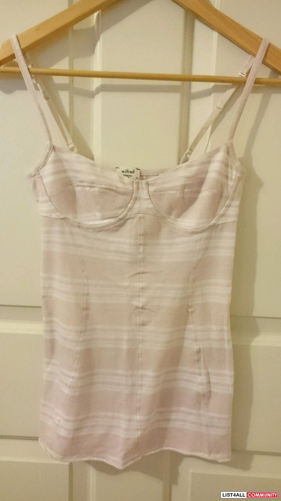 NWOT Aritzia Wilfred Bustier Cami Tank XS