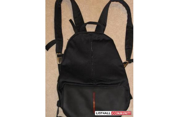 inspired prada handbags - Black replica Prada backpack - slightly used but still in good ...