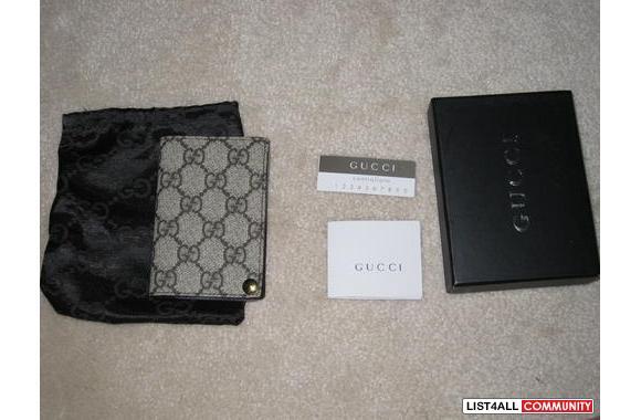 59f8e9fc34f5 Brand new replica Gucci name card holder :: j-f-boutique :: List4All