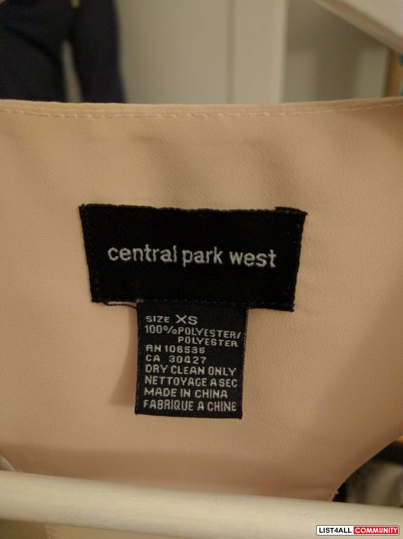 Central Park West Top XXS