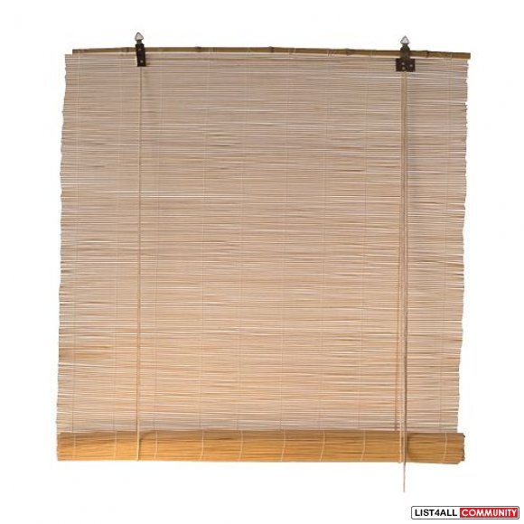 2 Bamboo blinds