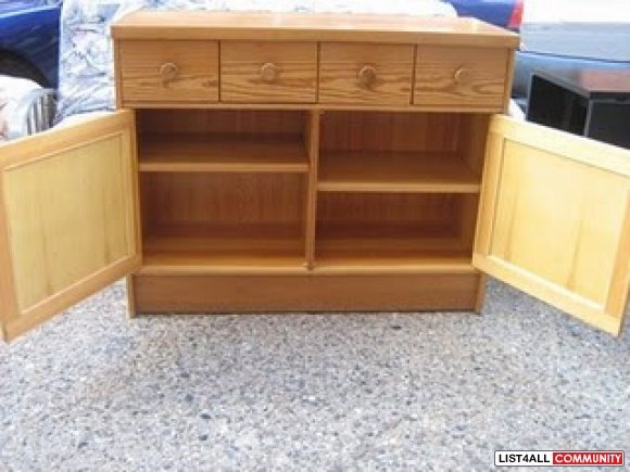 Pine sideboard (real wood)
