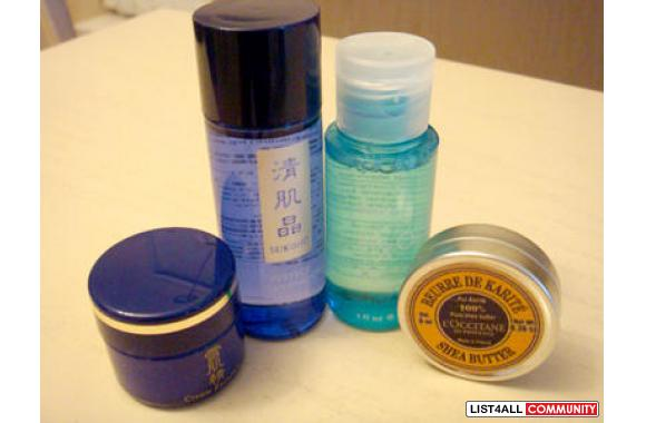 Mini SKIN-CARE (WHITENING & Moisturizing) PACKAGE - SEIKISHO, H2O,