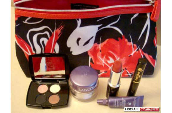 LANCOME Cosmetic & Skin Care PACKAGE!!! (With Bag)