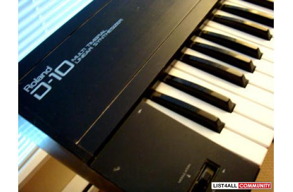 ROLAND D10 KEYBOARD - Great Condition!