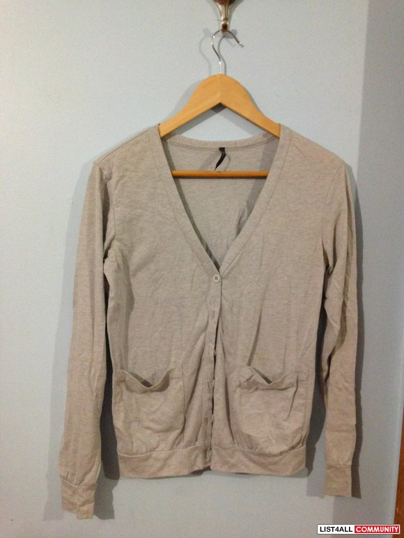 Off the wall cardigan