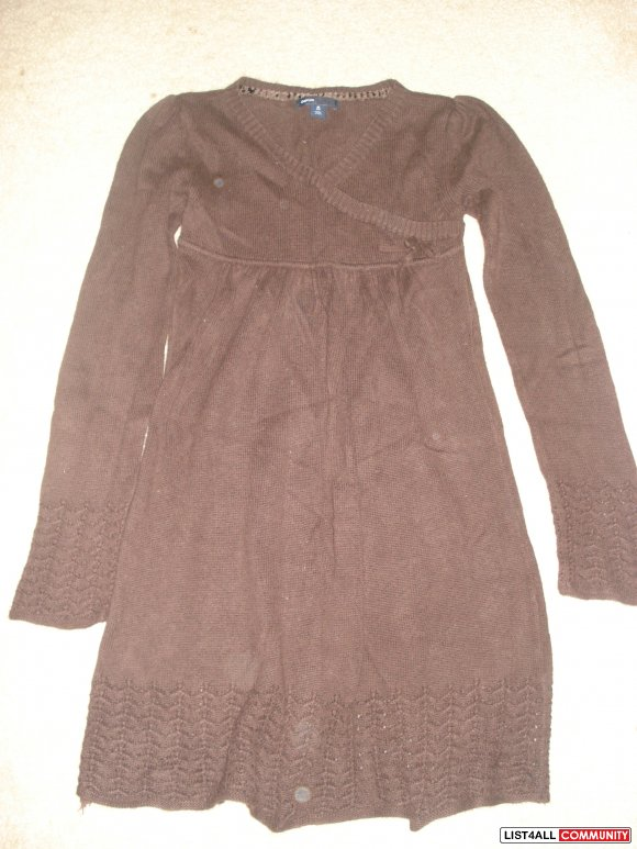 Gap Brown Knit Dress