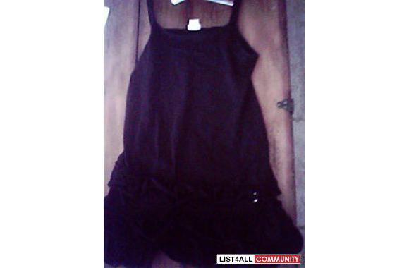 Xhilaration black tanktop dress