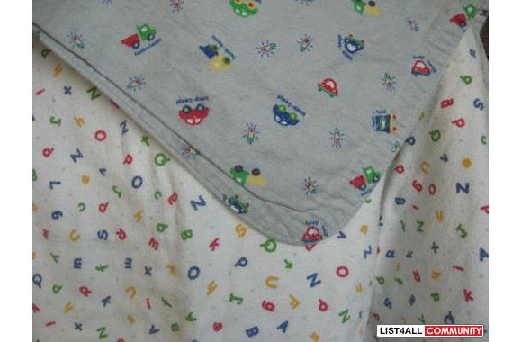Kushies reversible blankets