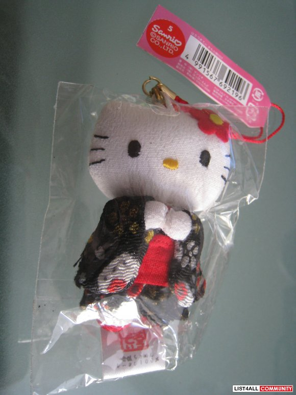 Hello Kitty cellphone chain