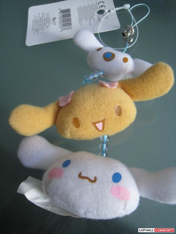 Sanrio cinnamoroll cellphone chain