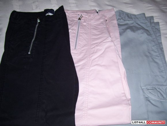 Lot of 3 size S pants all in brand new condition!