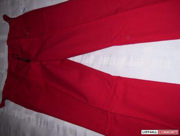 Brand new with tags size 7 red pants! Ultra stretch!!!