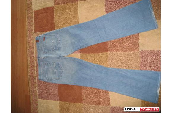 Barely used 7 for all mankind jeans size: 31