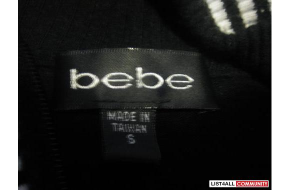 BEBEblack jacket-size xs/s-100% authentic-5/5
