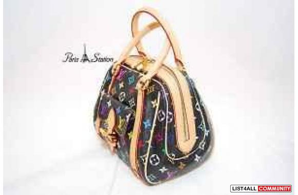 Authentic Black Multicolour Priscilla from Louis Vuitton