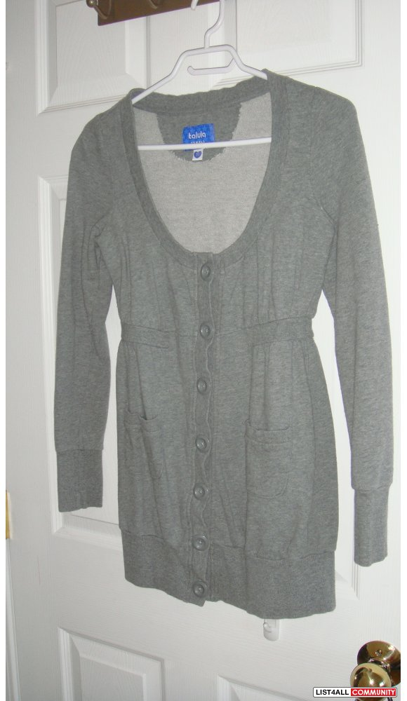 Talula button up cardigan in xsmall
