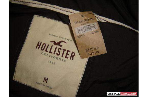 Hollister jacket authentic lyn list4all for Hollister live chat