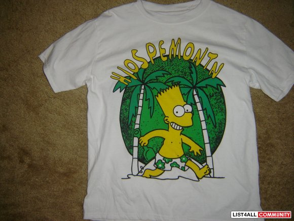 BNWT bart simpson t-shirt