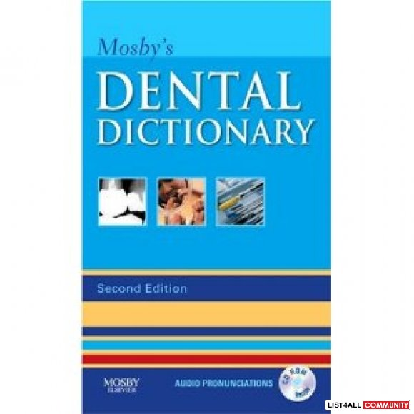 Mosby's Dental Dictionary Second Edition