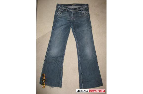 7 Jeans (size 28)