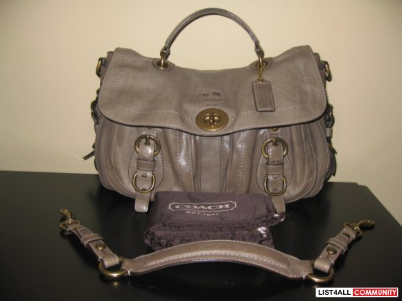 Coach Legacy Top Handle Bag - GUC