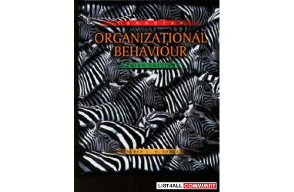 Canadian Organizational Behaviour (Used)