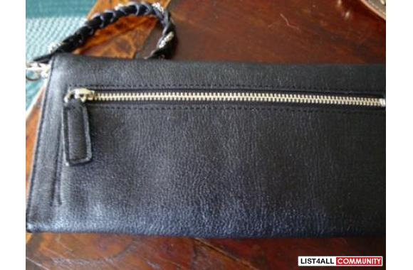 authentic bebe clutch/wallet