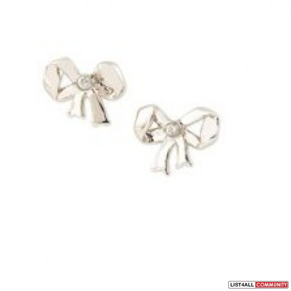 Juicy Couture Bow Studs Earring