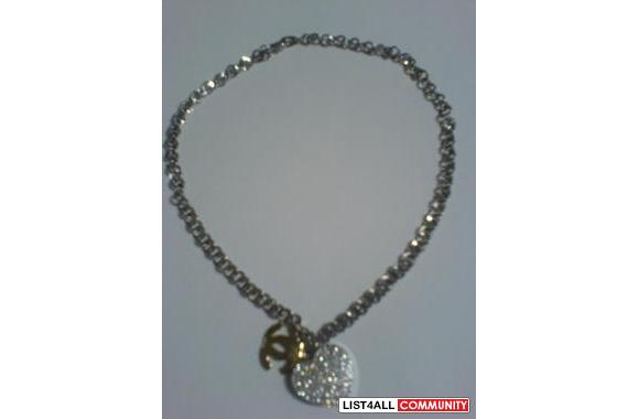 CHANEL NECKLACE (CAN ADJUST TO BE CHOKER)
