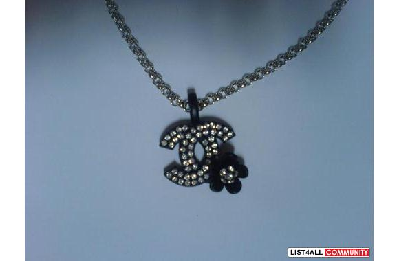 BLACK CHANEL NECKLACE