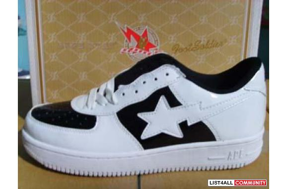 Select Bape Sta shoes and timberland boots with low cost here!