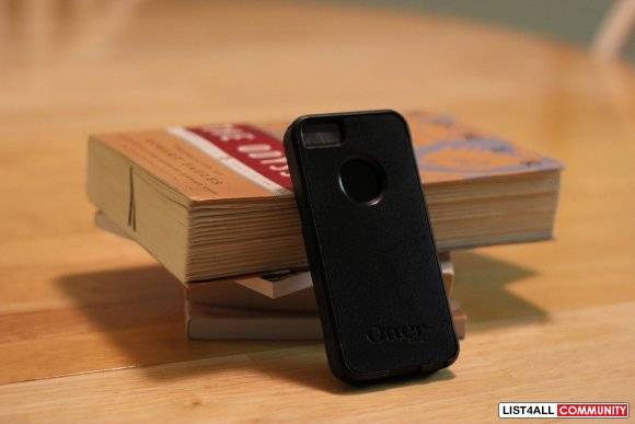 iPhone 5 OTTERBOX Commuter Cases - Black