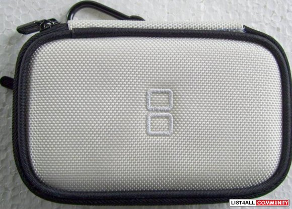 White Nintendo DS Lite & White Case
